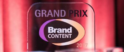 LE GRAND PRIX DU BRAND CONTENT 2018
